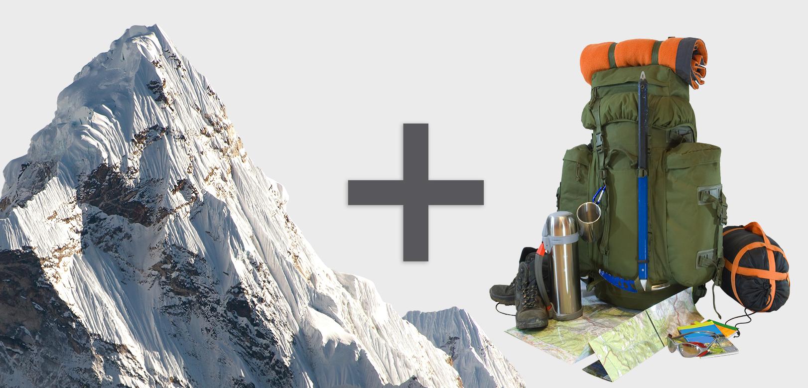gear plus mountain