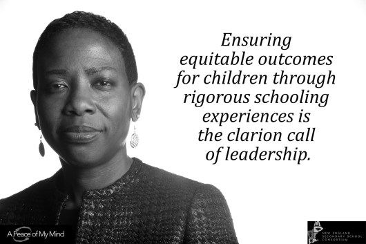 """""""How do you ensure equity and excellence for all learners?"""" Photo originally taken for A Peace of My Mind NESSC conference in Hartford, CT."""