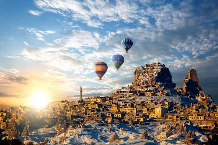 3 Nights 4 Days Cappadocia Tour from Istanbul – by Plane