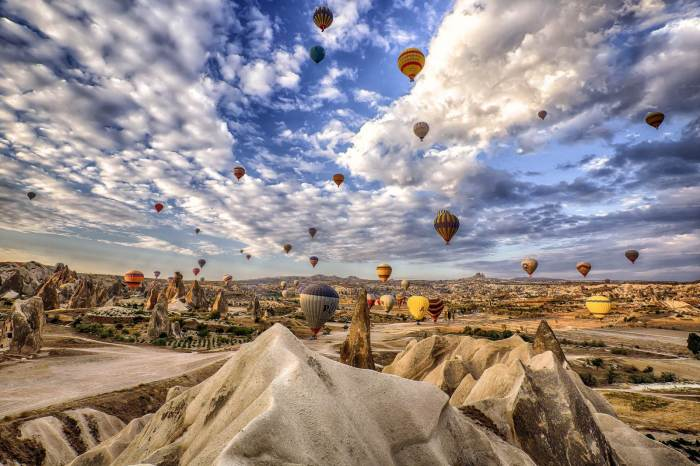 Daily Cappadocia Red Tour from Istanbul – by Plane