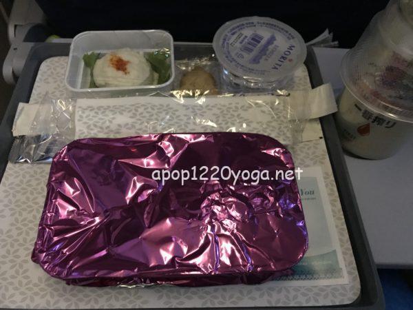 ハワイアン航空機内食