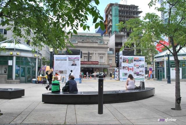 Luminato Hub at David Pecaut Square