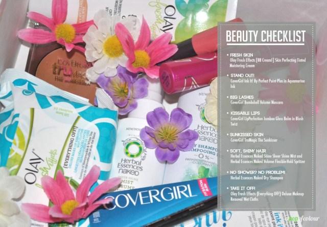 beauty checklist