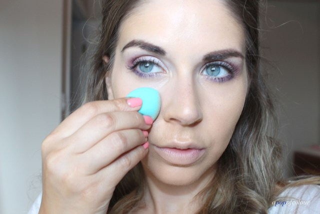using Sephora sponge