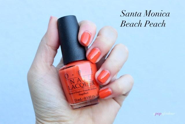 OPI Santa Monica Beach Peach