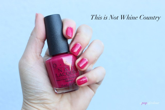 OPI This is Not Whine Country