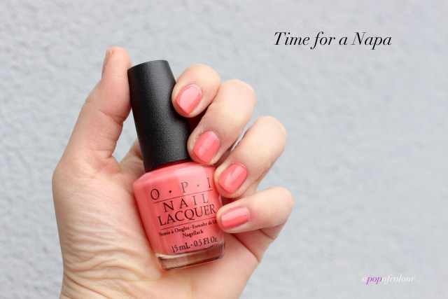 OPI Time for a Napa