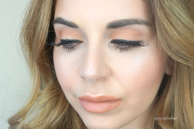 Look featuring Too Faced White Peach eyeshadow palette