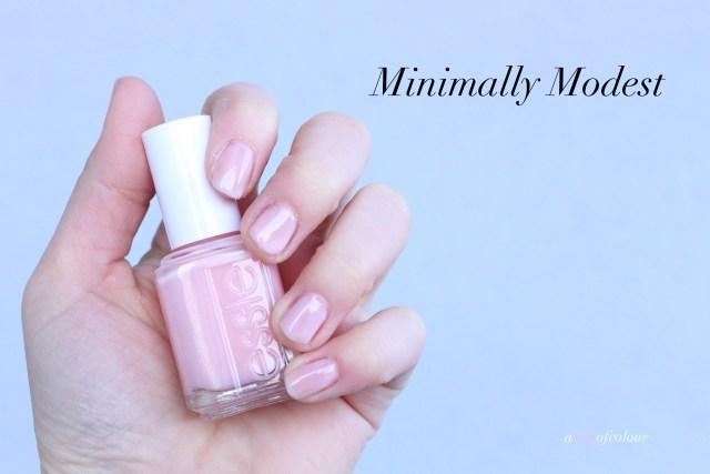 Essie Minimally Modest
