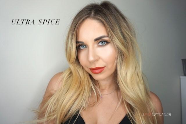 Dior Ultra Rouge lipstick in Ultra Spice