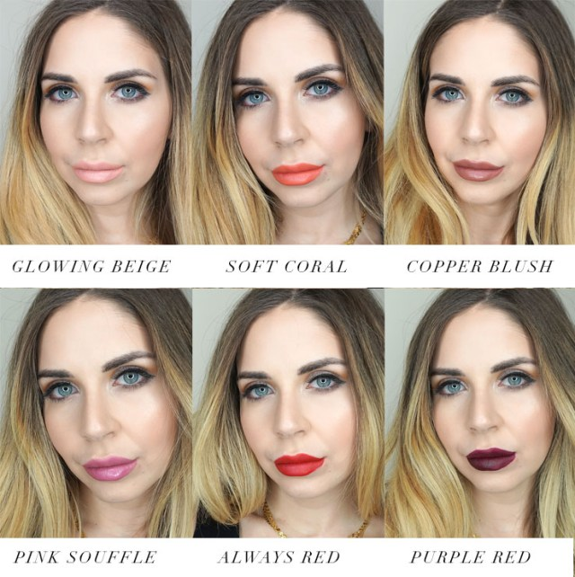 Sephora Collection Cream Lip Stain Collector's Set swatches