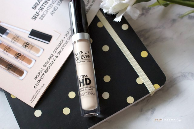 Make Up For Ever ULTRA HD CONCEALER LIGHT-CAPTURING SELF-SETTING CONCEALER
