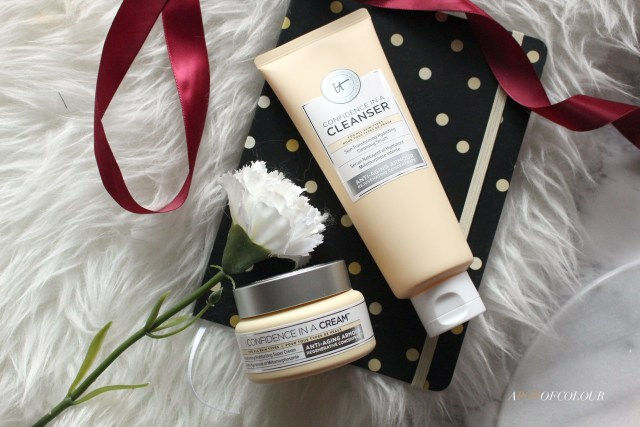 IT Cosmetics Confidence in a Cream moisturizer and cleanser