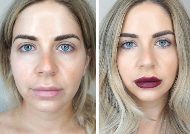 Avon Wash-Off Waterproof mascara swatched