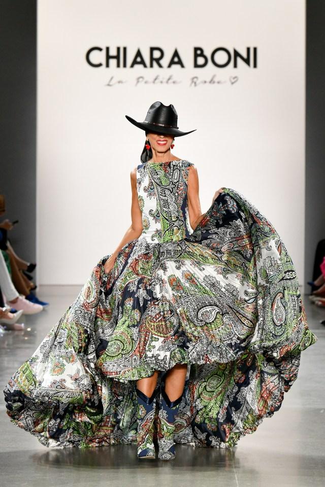 Chiara Boni La Petite Robe NYFW SS20 show