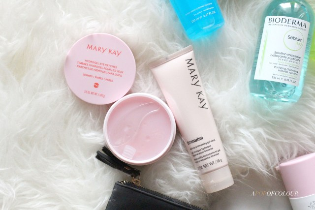 Mary Kay TimeWise Moisture Renewing Gel Mask and Hydrogel Eye Patches