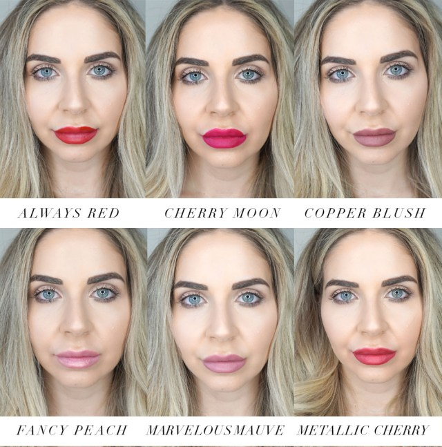 Sephora Collection Cream Lip Stain Collection