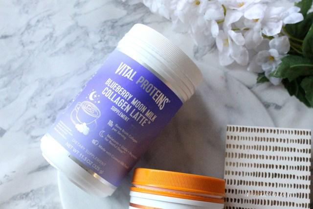 Vital Proteins Blue Moon Milk Collagen Latte