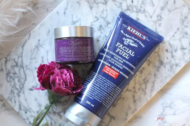 Kiehls Facial Fuel and Multi-Action Cream