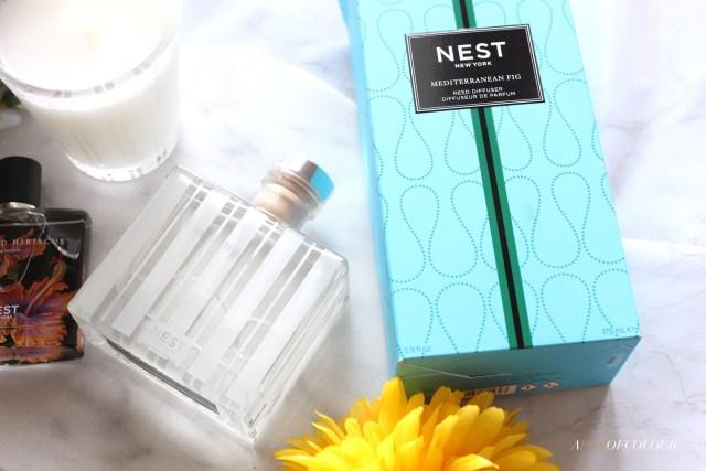 Nest Mediterranean Fig reed diffuser