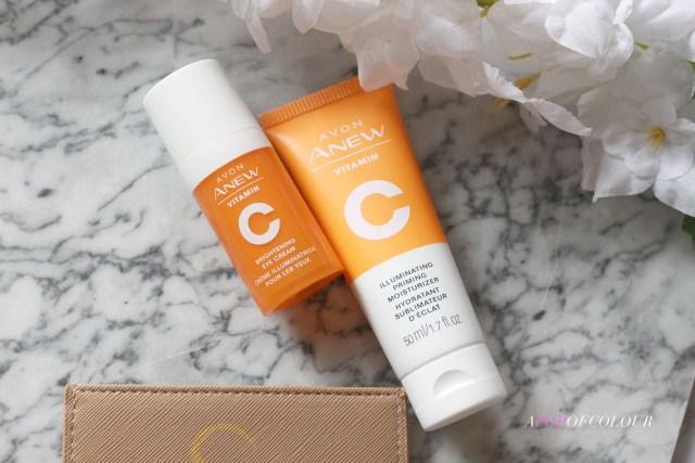 Avon Anew Vitamin C Brightening Eye Cream and Anew Vitamin C Illuminating Priming Moisturizer