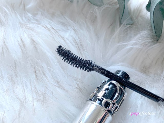 Dior DiorShow Iconic Overcurl silver glitter mascara wand