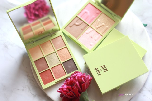 Pixi Eye Effects and Nuance Quartette palettes