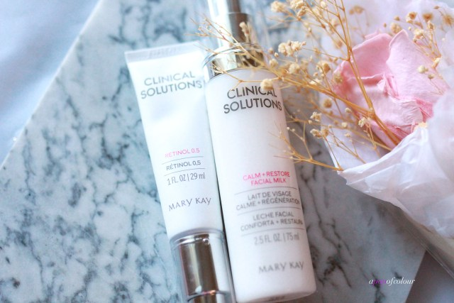 Mary Kay Clinical Solutions Retinol and Calming Facial Milk