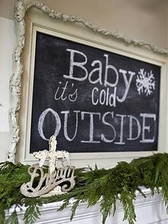 Chalkboards: not just for school anymore!