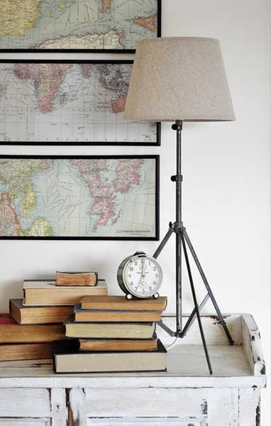 Decorating with maps inspiration photos a pop of for Decorating blogs canada