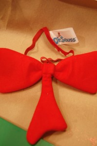 Dr. Seuss Christmas Tree Bow-Tie