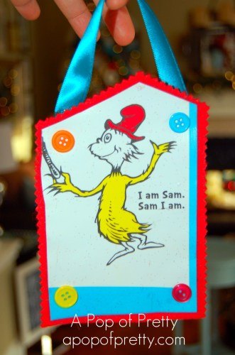 Sam I Am Christmas Tree Decoration