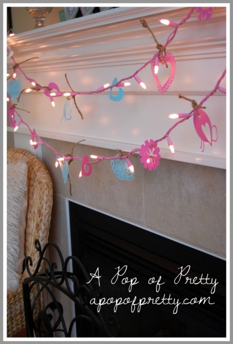 how to decorate for Valentines Day