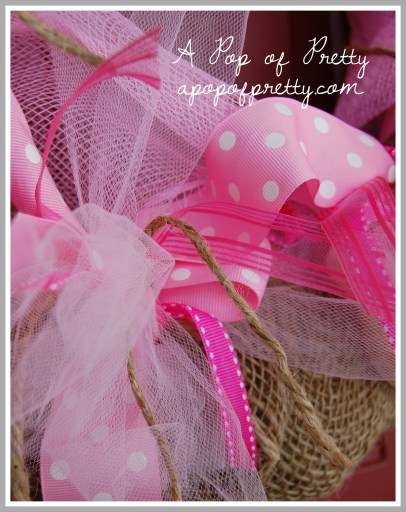 Valentine wreath how to make