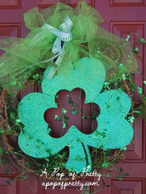 wreath for st patricks day