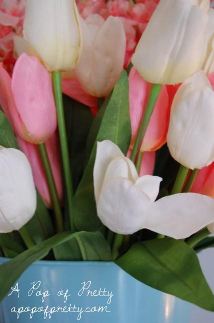 DIY Spring Decor - tulips