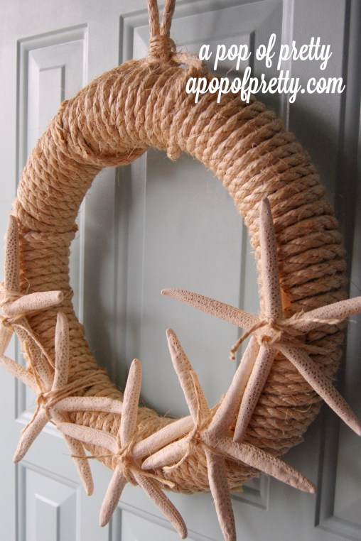 Sisal Starfish wreath