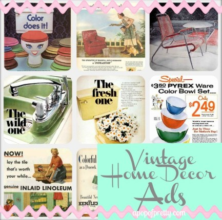 Home Decor Vintage Ads Pin it