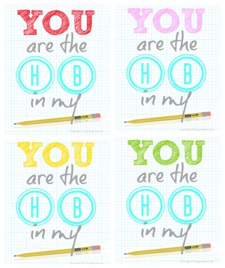You are the HB in my pencil