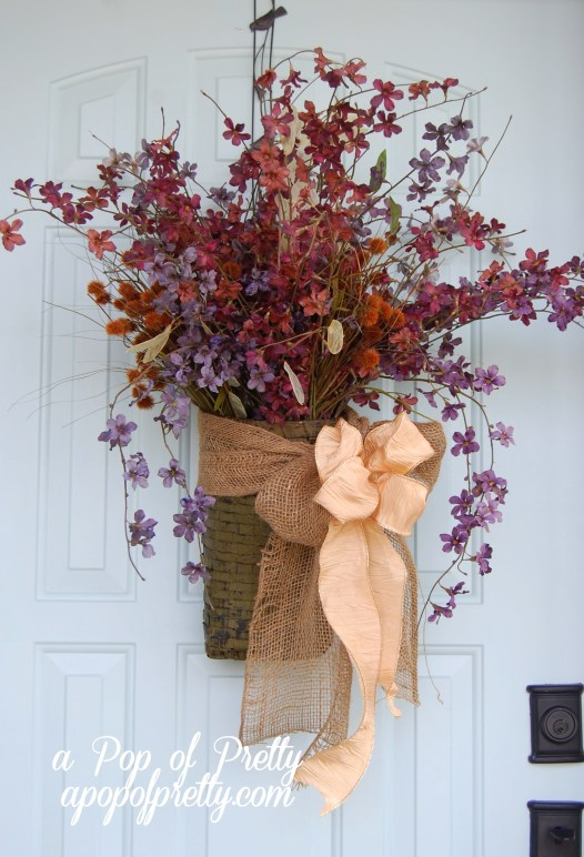 DIY Fall Door Decorating Ideas