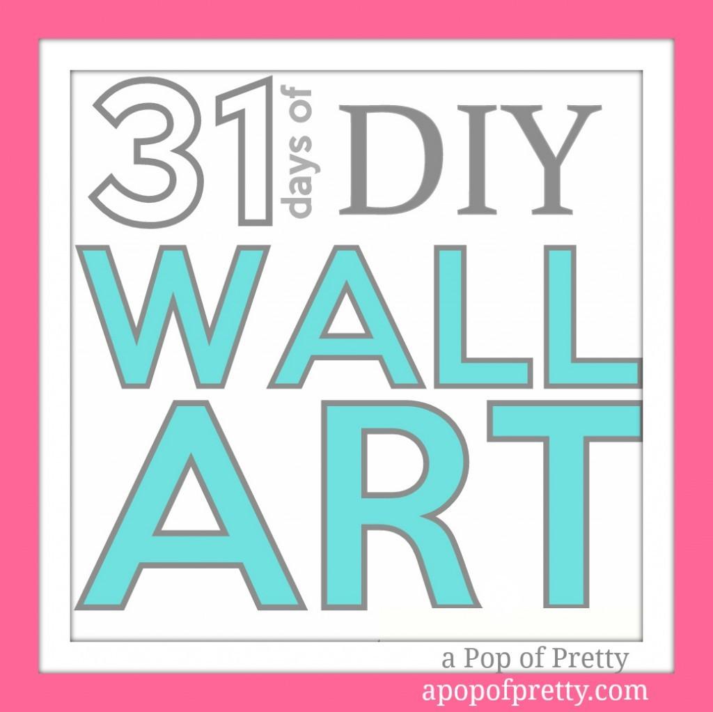 Cute  Days of DIY Wall Art