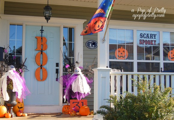 Boo wreath Halloween