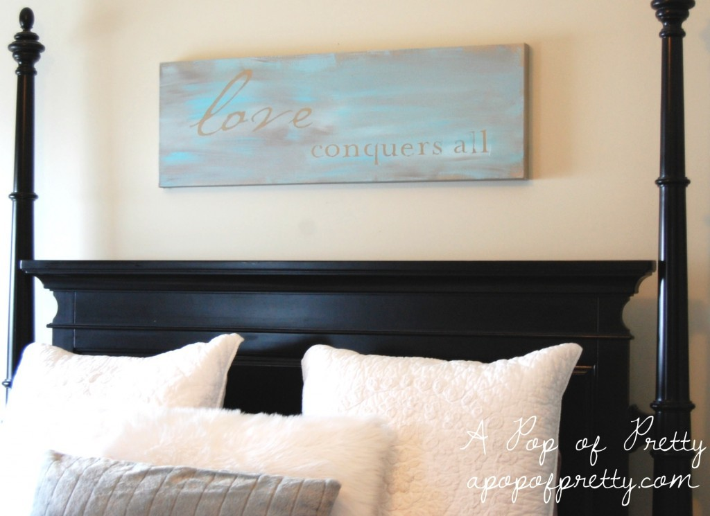 Amazing diy wall art painted canvas