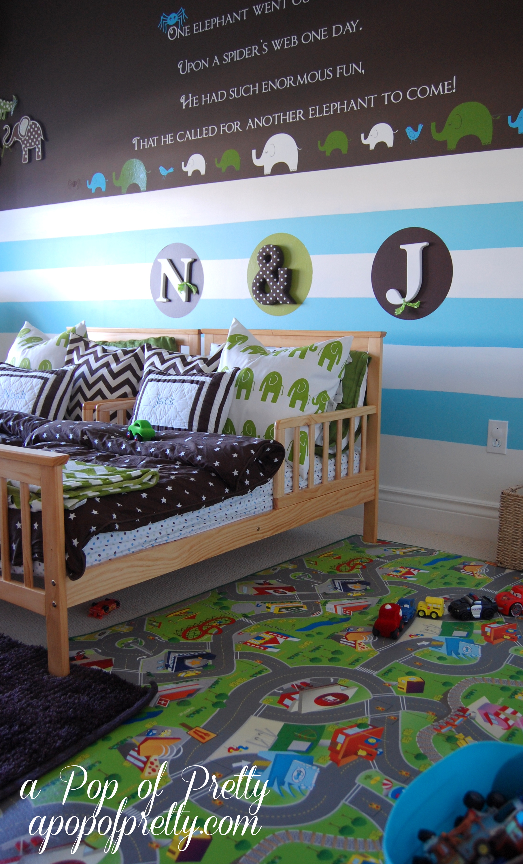 Toddler Boy Room Cars A Pop Of Pretty Blog Canadian