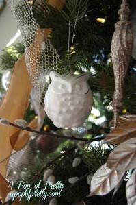 Owl Christmas Decorations