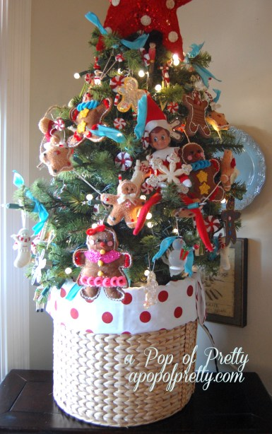 Mini Christmas tree decorating ideas