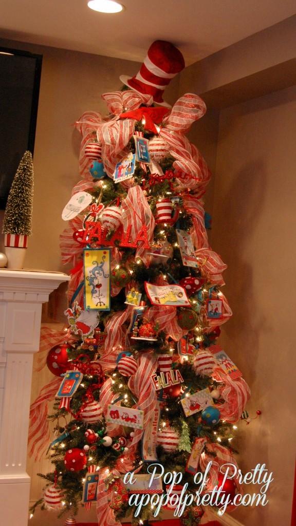Our Dr Seuss Christmas Tree 2012 A Pop Of Pretty Blog