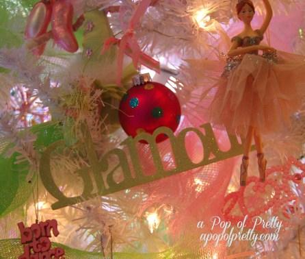 pretty dance Christmas tree