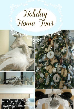 diy Christmas decorating - home tour