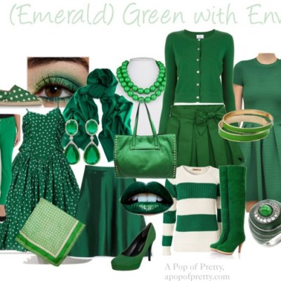 Emerald Green with Envy? {Pantone's Color of the Year 2013}
